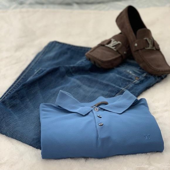 Louis Vuitton Other - Louis Vuitton blue polo 4L- XXL